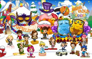 Fantage - Virtuelle Welt feiert Karneval