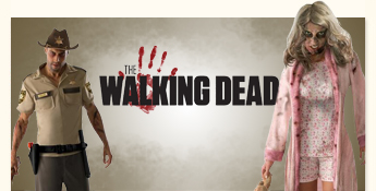 The Walking Dead: Masken und Kostüme