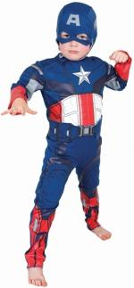 Captain America Kinder Kostüm -