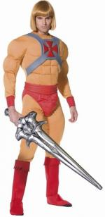 He-man Kostüm - Deluxe (masters Of The Universe) -