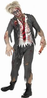 High School Boy Zombie Kostüm - Schuljunge -