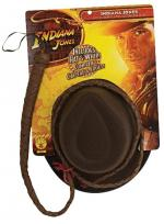 Indiana Jones Kostüm Set (hut Und Peitsche) -