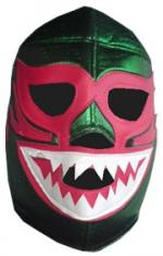 Lucha Libre Maske - Green Monster -