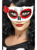 Mexikanische Augenmaske - Day Of The Dead -