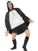 Party Poncho - Pinguin -