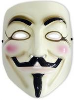 V Wie Vendetta Maske - Anonymous - Guy Fawkes -