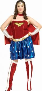 Wonder Woman Kostüm Xl - Plus Size -