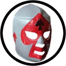 Lucha Libre Maske - Grey-black-red bestellen