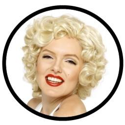 Marilyn Monroe Perücke - Locken Blond bestellen