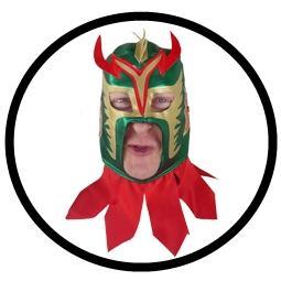 Ultimo Dragon - Wrestling Maske bestellen
