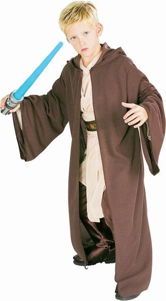 Jedi Robe Umhang Kinder Kostüm Deluxe Star Wars Kostüme Star