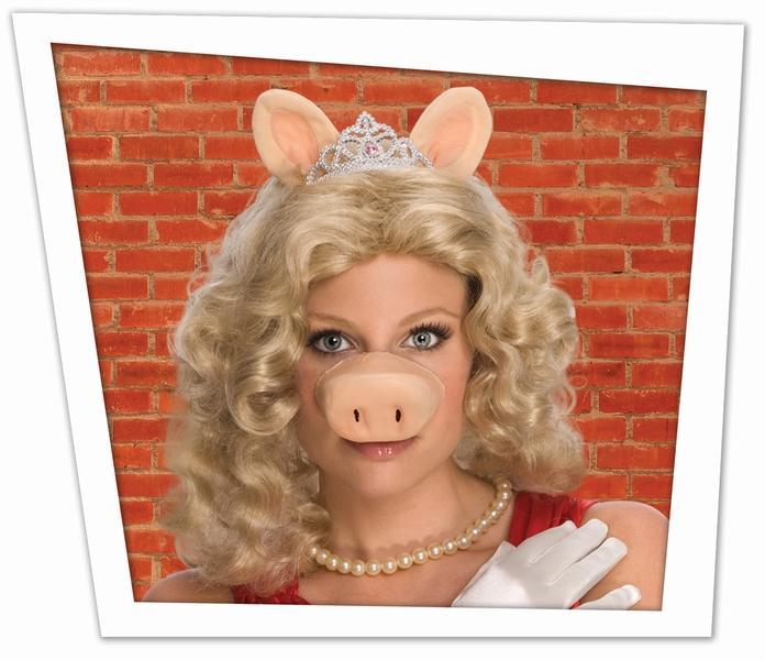 miss piggy nase mit per cke set the muppets kost me muppet show miss piggy nase mit. Black Bedroom Furniture Sets. Home Design Ideas